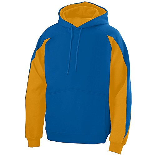 STYLE 5460 - VOLT HOODY ROYAL/GOLD XL by