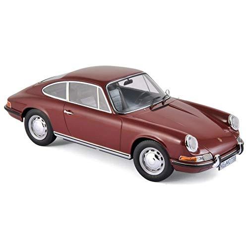 Norev 1969 Porsche 911 T Dark Red 1/18 Diecast Model Car 187630