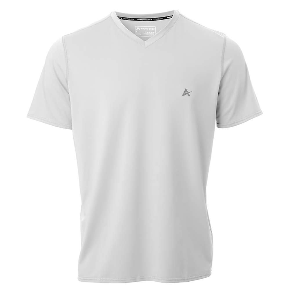 Arctic Cool Men's V-Neck Instant Cooling Short Sleeve Shirt
