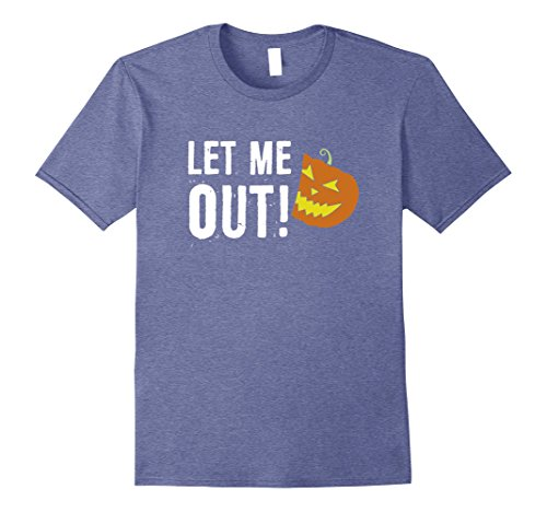 Mens 2017 Halloween Costume Let Me Out Funny Halloween T-shirt Medium Heather (Horror Movies Coming Out Halloween 2017)