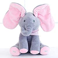 Peek-a-boo Elephant baby Cute Singing Plush Toy