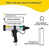 Air Power Caulk Gun 10 oz/310 ml Professional