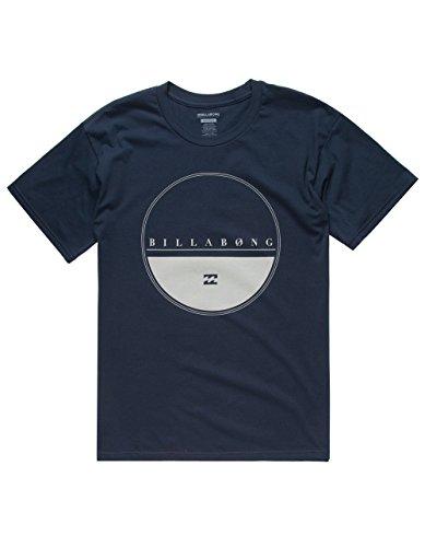 BILLABONG Equator Mens T-Shirt, Navy, (Billabong Blue Shirt)