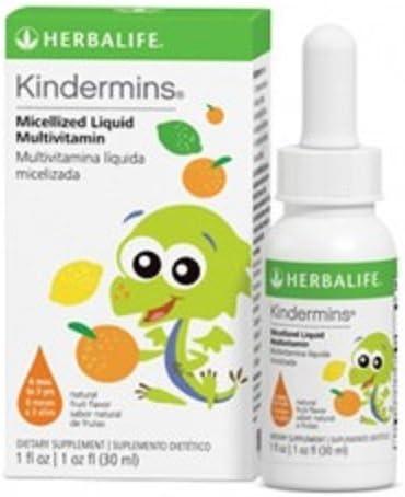 Amazon.com: Herbalife kindermins Multivitamin del Niño ...