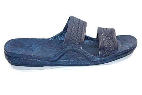 Hawaii Moses Unisex Blå Gummi Gli På Jesus Sandal Tøfler