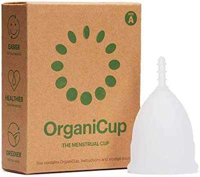 Copa menstrual OrganiCup – Talla A/pequeña –