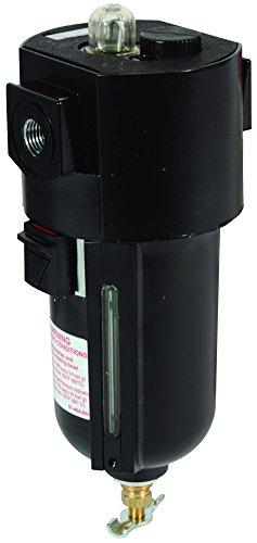 Dixon L26-03AMB Wilkerson Economist Standard L26 3/8'' Standard Lubricator, Metal 10 oz. Bowl with Sight Glass, 60 SCFM, Metal/Plastic by Dixon