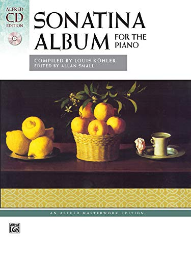 Sonatina Album: Comb Bound Book & 2 CDs (Alfred Masterwork CD Edition)