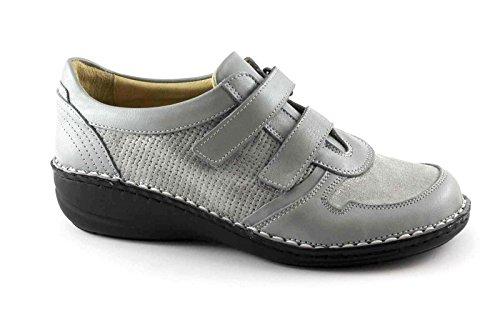 Grünland INES SC3216 grises zapatos de las mujeres de consuelo inconvenientes Grigio