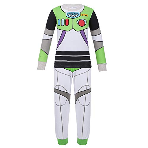 ACSUSS Kids Boys Girls Halloween Cosplay Costumes Toy Story Cowboy Outfits Cartoon Pajamas Set Sleepwear
