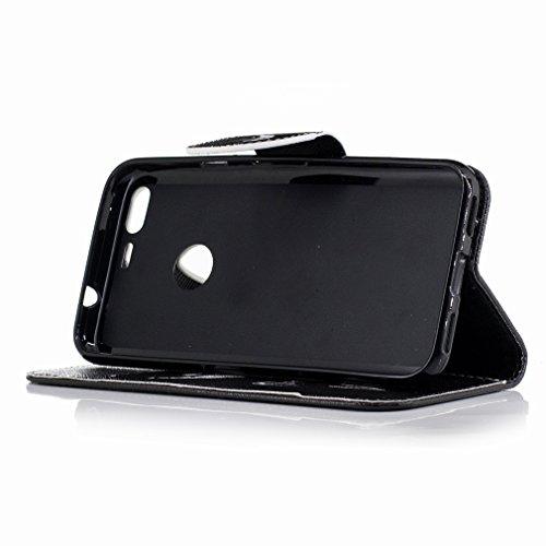 Yiizy Google Pixel Custodia Cover, Denti Sorridono Design Sottile Flip Portafoglio PU Pelle Cuoio Copertura Shell Case Slot Schede Cavalletto Stile Libro Bumper Protettivo Borsa