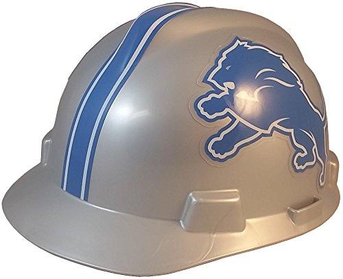 Adjustable Lions Hats - MSA NFL Ratchet Suspension Hardhats - Detroit Lions Hard Hats