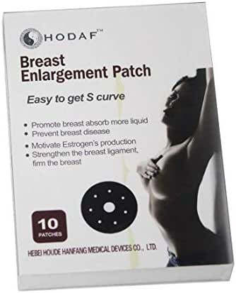 Natural Herbs Breast Enhancement Patch, Safe to Use, Breast Firming and Lifting Naturally, 10 Count/Box