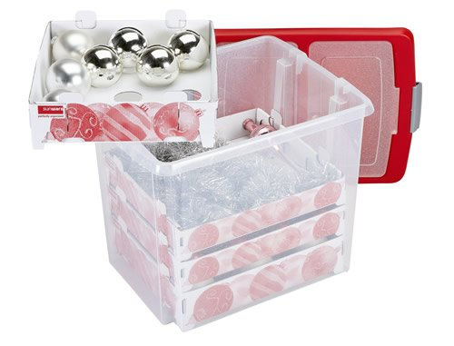 christmas decorations storage box large amazoncouk kitchen home