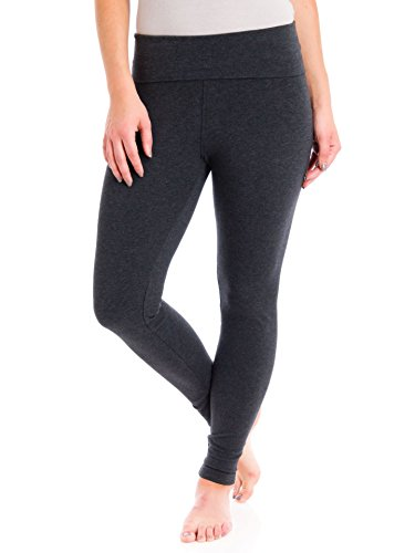 Hard Tail Contour Rolldown Ankle Legging Dark Charcoal Large