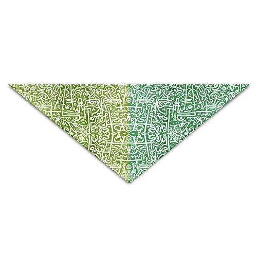 LODRR Pet Scarf, African Tribal Vintage Ethnic Pattern Triangle Pet Scarf Dog Bandana Pet Collars for Dog Cat - -