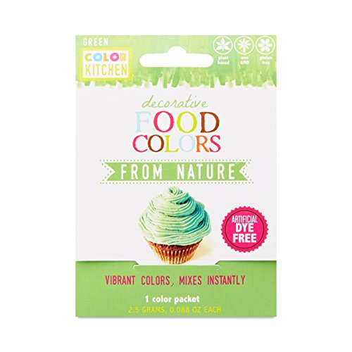 ColorKitchen Food Color Packets 0.1 oz - 10 count (Green) by ColorKitchen