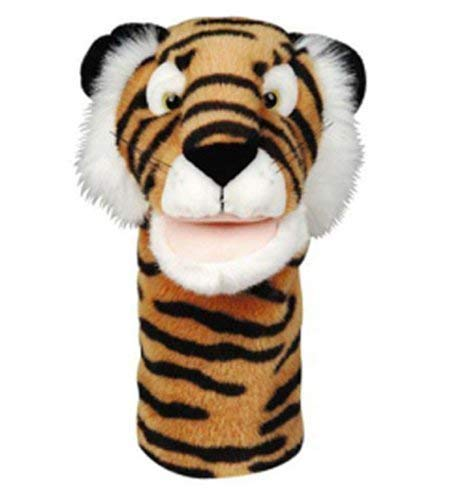 Buy get ready kids plushpups hand puppet tiger