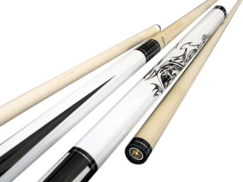 White Pool Case Brand New Champion Cupid Billiards Pool Cue tip Size: 12 or 13 Mm Cuetec or Champion Glove
