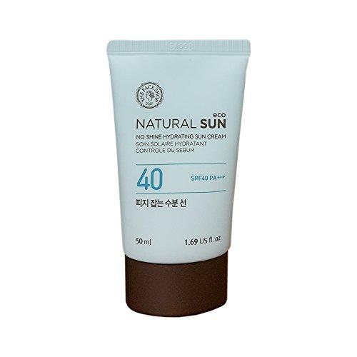 The Face Shop Natural Sun Eco Sebum Control Moisture Sun SPF40PA+++ 50ml/No Shine Hydrating Sun Cream 2016. Mar. New Upgrade