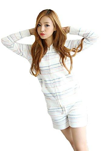 6l Thermal Magic ([LUCE miraco] Womens Mocomoco's Nightgown Comfort Cotton Sexy Sleepwear Pajamas)