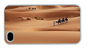 Hipster coolest iPhone 4 cases sahara desert PC White for Apple iPhone 4/4S