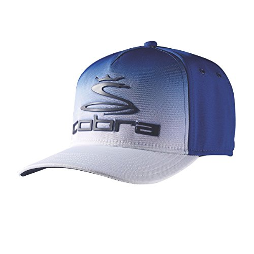 Cobra Golf 2017 TOUR FADE Hat BLUE S/M (Surf The Web/White, Small/Medium)
