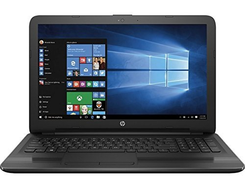 "HP 15.6"" HD Premium Laptop PC Computer, AMD Quad-Core E2-7110 APU 1.8GHz, 4GB DDR3 RAM, 500GB HDD, AMD Radeon R2, DVDRW, USB 3.0, HD Webcam, HDMI, Rj-45, Windows 10 Home"
