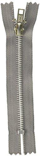 Coats Thread & Zippers F24A05-026 Fashion Metal Aluminum Closed Bottom Zipper, 5