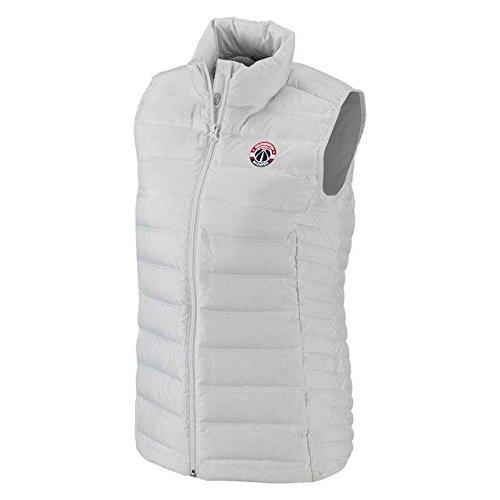 壊す教室ヤギColumbia Columbia Washington Wizards Women's White Lake 22 Down Full-Zip Vest アウターウェア ジャケット/アウター 【並行輸入品】