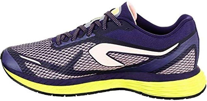 Kalenji - Zapatillas de Running de Caucho para Mujer, Color Morado, Talla 37 1/3: Amazon.es: Zapatos y complementos