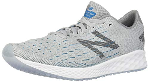 New Balance Men's Zante Pursuit V1 Fresh Foam Running Shoe, Light Aluminum/Steel/deep Ozone Blue, 11 2E US