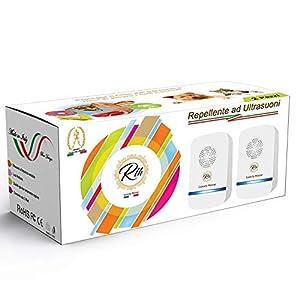 Repellente Ultrasuoni Professionale per Topi Insetti | Antizanzare |Scaccia e Allontana Ratti Ragni Scarafaggi Zanzare… 1 spesavip
