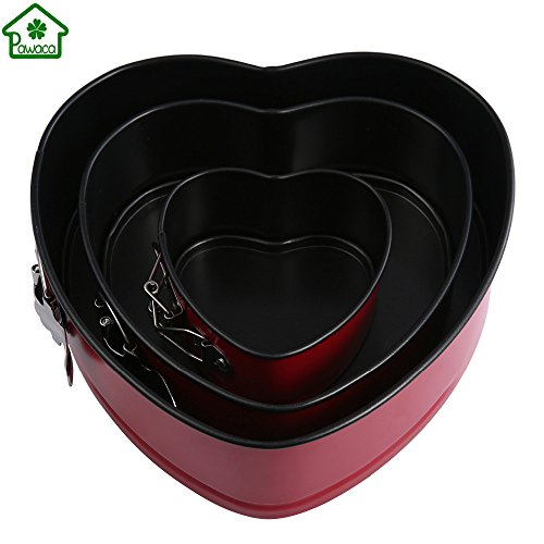 4/7/9 Inch Round Heart Shape Non-stick Springform Cake Mold Stainless Steel Cake Pastry Bread Baking Pan Mould DIY Cooking Tools