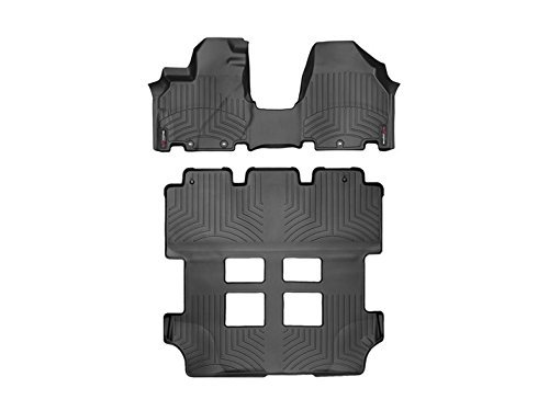 Weathertech 443471-443412 DigitalFit Front & Rear Over The Hump Floor Liner