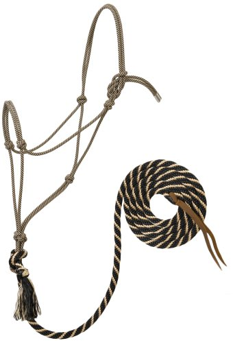 Weaver Leather Silvertip No. 95 Rope Halter with 12' Lead (Weaver Diamond)