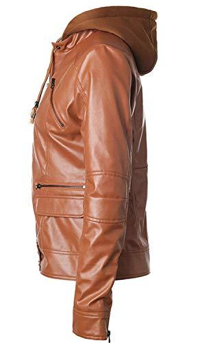 Outwear Similpelle In Sottile Giacca Pelle Transizione Giacche Di 85zgqqwxB