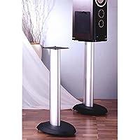 VSP Series Aluminum Speaker Stand in Black - Set of 2 (24 in.)