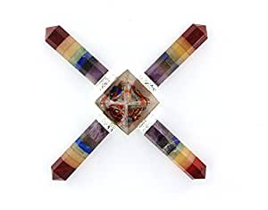 Orgonite With Natural Stone Pencil Chakra Energy Generators