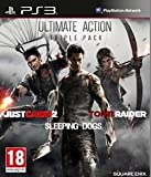 Ultimate Action Pack: Tomb Raider, Sleeping Dogs and Just Cause 2 (PS3)