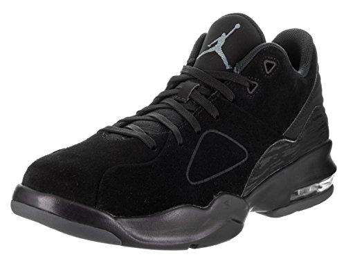 Nike Jordan Mens Jordan Franchise Black/Black/Dark Grey Basketball Shoe 12 Men US by Jordan