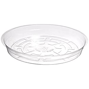 Hydrofarm HGS10 Clear 10-Inch Saucer, pack of 25