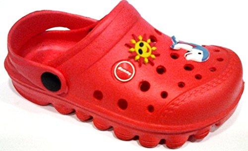 dema , Baby Mädchen Lauflernschuhe Blau rot 33