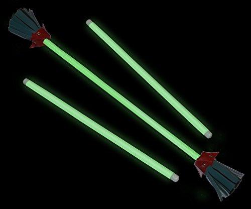 Majestix Glow in the Dark Juggling Devil Sticks by Jolly Lama! (Image #3)