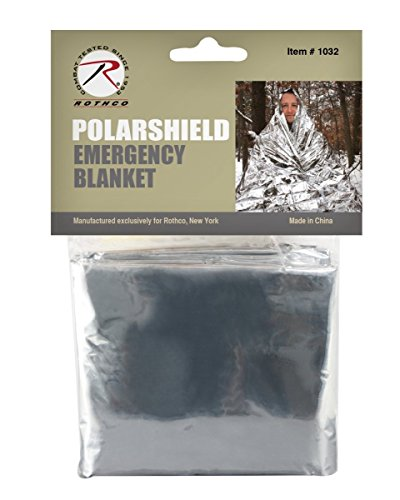 (Rothco Polarshield Survival Blanket, Silver)