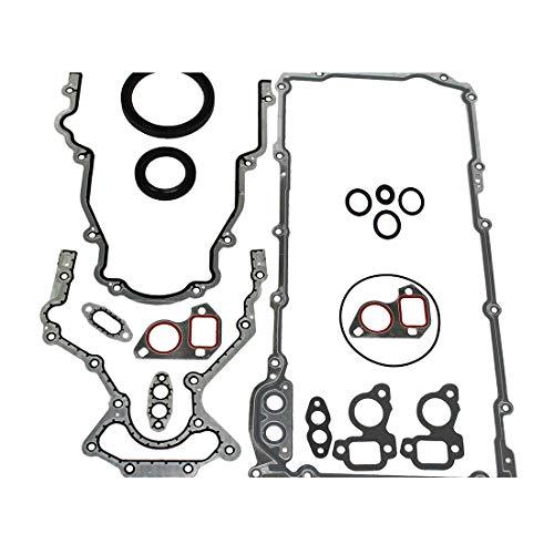 DNJ LGS3165 Lower Gasket Set/For 1997-2017/ Avanti, Buick, Cadillac, Chevrolet, GMC, Hummer, Isuzu, Pontiac, Saab/ 9-7x, Ascender, Avalanche, Camaro, Canyon, Caprice, Colorado/ 4.8L-6.2L V8 OHV (2001 Gmc Sierra 1500 Engine 4-8 L V8)