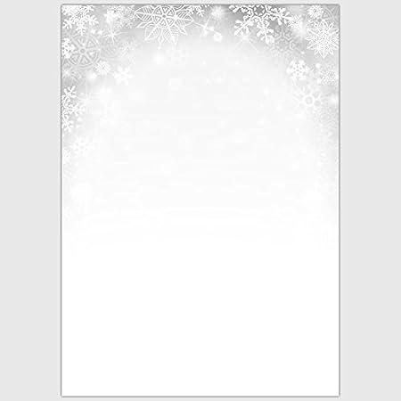 Designpapier Winter Eiskristall 100 Blatt//DIN A4