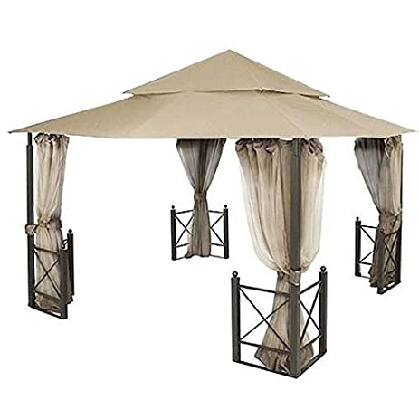 Garden Winds Replacement Canopy For Harbor Gazebo