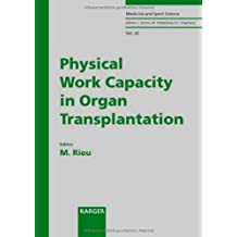 Physical Work Capacity in Organ Transplantation