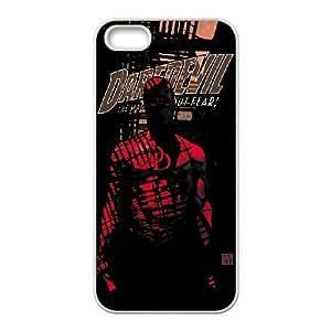 iPhone 5,5S Phone Case White Daredevil UYUI6755261